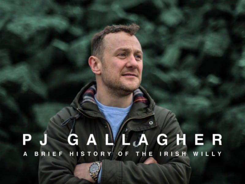 PJ Gallagher, Wexford Spiegeltent Festival