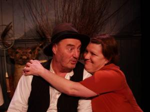 Jon Kenny and Mary McEvoy in THE MATCHMAKER by J.B. Keane Directed By Michael Scott